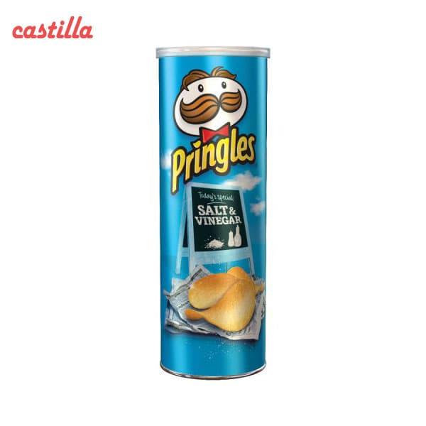 چیپس پرینگلز 165 گرم طعم سرکه نمکی