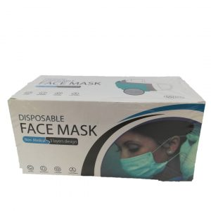 ماسک سه لایه 50 عددی