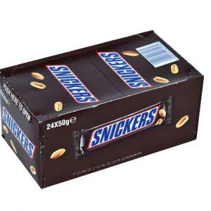 شکلات اسنیکرس