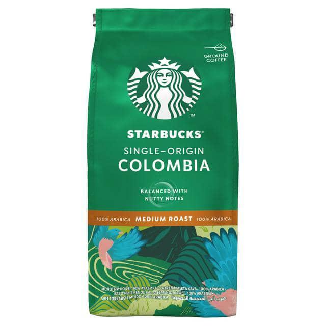 قهوه پودر استارباکس کلمبیا مدیوم 200 گرم