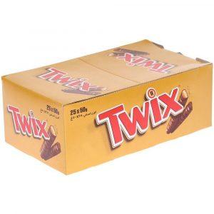 شکلات عسلی تویکس 25 عددی