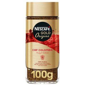 قهوه گلدکلمبیا فوری 100 گرم نستله