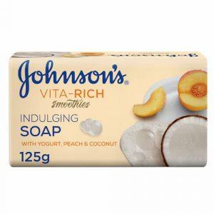 صابون جانسون Johnson's با رایحه هلو و نارگیل