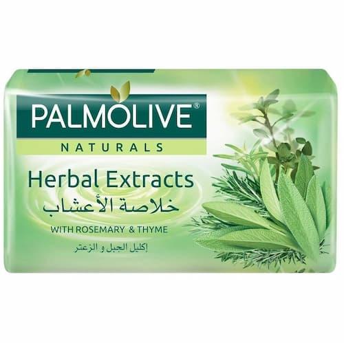 صابون پالمولیو Palmolive مدل Herbal Extracts وزن 170 گرم