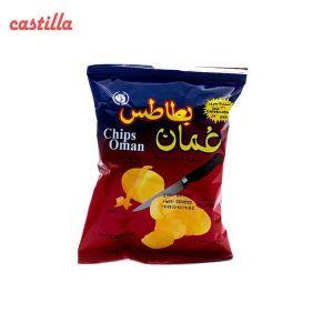 چیپس نمکی عمان وزن 15 گرم