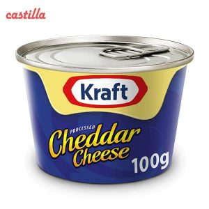 پنیر چدار کرافت وزن 100 گرم