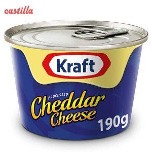 پنیر چدار کرافت وزن 190 گرم
