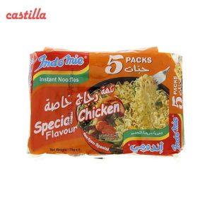 سوپ رشته اندومی طعم مرغ مخصوص بسته 5 عددی