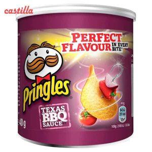 چیپس پرینگلز کوچگ 40 گرم طعم باربیکیو