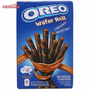 ویفر رولی اوریو طعم شکلات