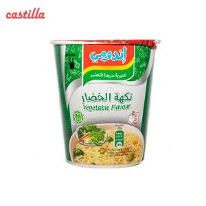 سوپ رشته لیوانی اندومی طعم سبزیجات وزن 60 گرم