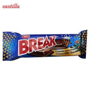 شکلات بریک دو انگشتی وزن 15 گرم