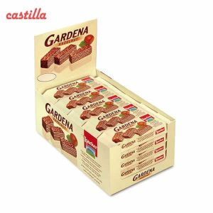 ویفر شکلاتی لواکر گاردنا طعم فندق بسته 25 عددی