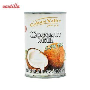 کنسرو شیر نارگیل گلدن والی حجم 400 میلی لیتر