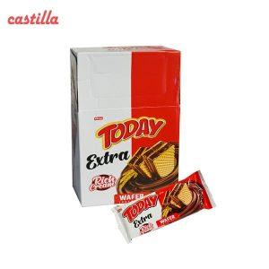ویفر شکلات فندقی تودی اکسترا تعداد 24 عدد