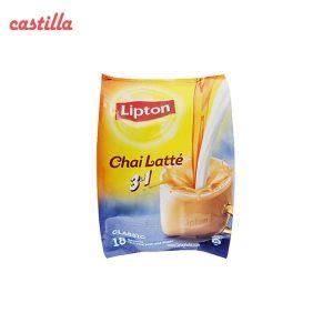 شیر چای لاته لیپتون کلاسیک بسته 18 عددی