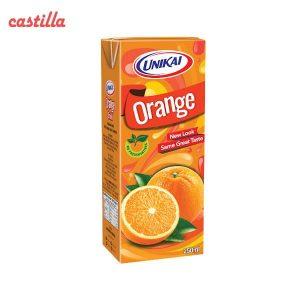 آبمیوه پاکتی یونیکای با طعم پرتقال - 250 میلی لیتر