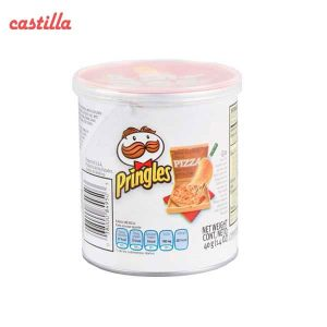 چیپس پرینگلز کوچک 40 گرم طعم پیتزا