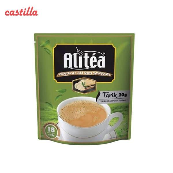 شیر چای علی تی جنسینگ دار بسته 20 عددی