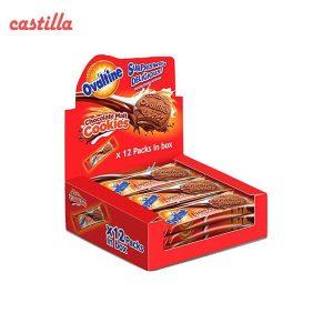 بیسکویت کرم دار اوالتین جو و شکلات بسته 12 عددی